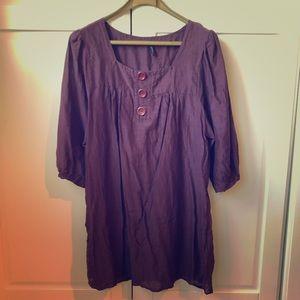 BOGO NAF NAF Silk & Cotton Dress/Tunic - Size 10